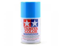 light blue acrylic paint tamiya 100ml ps3 light blue polycarbonate spray paint 86003 from