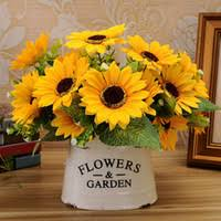 sunflower wedding decorations wholesale sunflower wedding decoration buy cheap sunflower