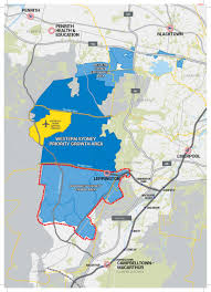 south west priority growth area map department of planning and