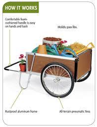 large garden cart buy from gardener u0027s supply