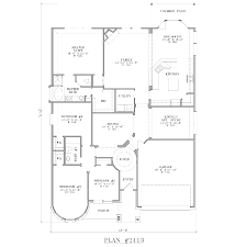 28 four bedroom house plans one story single 4 and 3 corglife
