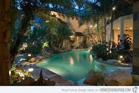 Tropical Backyard Ideas Luxurious Backyard Pool Ideas Yodersmart Home Smart