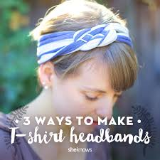 hair headbands 3 diy headbands you can make from t shirts