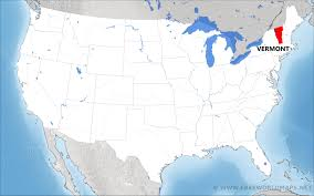 Map Vermont Where Is Vermont Located On The Map