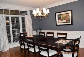 sherwin williams homburg gray dining room wainscoting zillow