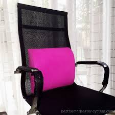 Office Chair Back Support Cushion Lumbar Support Pillow For Office Chair 10 Best Home Theater