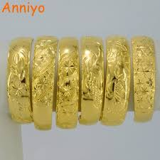 aliexpress buy new arrival fashion shiny gold plated one gold bangle for women real gold plated dubai bracelet