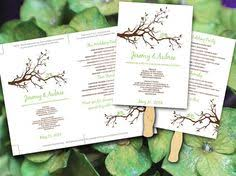 make your own wedding fan programs how to make your own wedding program fan program fans wedding