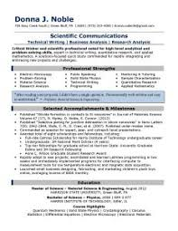 Successful Resume Template Good Resume Titles Examples Resume Example And Free Resume Maker