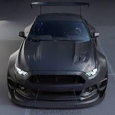Black 2015 Mustang 2015 Mustang Carbon Wide Body Concept By Robevansdesign U201d Matte