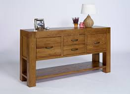 Oak Furniture Uk Valencia Rustic Oak Hall Table Hampshire Furniture
