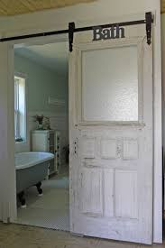barn door ideas for bathroom bathrooms white bathroom with white sliding barn door also