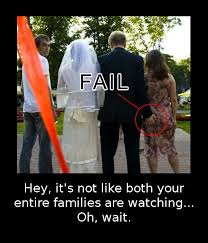wedding captions a gallery of husbands being horrible at wedding fail scumbag