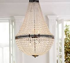 Camilla Chandelier Pottery Barn Similar Mia Faceted Crystal Extra Large Chandelier Potterybarn
