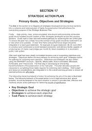 strategic action plan template action plan free action