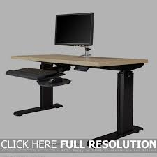 Adjustable Computer Stand For Desk Table Fascinating Height Adjustable Compact Computer Desk 13