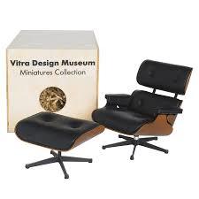 Charles Eames Original Chair Design Ideas Vitra Miniature Eames Lounge Chair And Ottoman Stardust Original