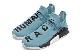 adidas nmd light blue pharrell williams might release a light blue human race nmd hypebeast