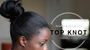 knappy clip in hair extensions styling knappy hair clip ins top knot emmy8405 youtube