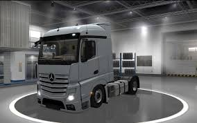mercedes actros 2014 mercedes actros 2014 low chassis 1 27 x ets 2 mods