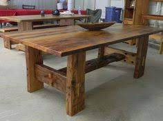 Reclaimed Beam Dining Table Aged Timber Table Barnwood Rustic - Barnwood kitchen table