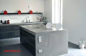 cuisine béton ciré carrelage pour plan de travail cuisine carrelage pour plan de