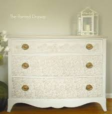 White Painted Furniture Shabby Chic by Shabby Glam Dresser Hometalk
