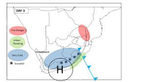 Synoptic Weather Map Definition South African Cold Fronts
