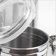 Stainless Steel Canister Sets Kitchen Snagshout 5 Piece Stainless Steel Canister Set W Clamp Lids