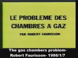 vérité sur les chambres à gaz avis sur le le problème des chambres à gaz 1986 par