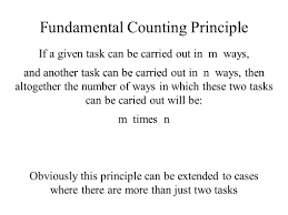 origins of probability theory and the fundamental counting