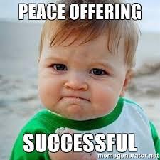 Peace Memes - peace offering memes memes pics 2018