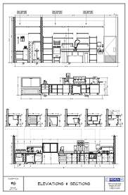technical drawing floor plan design layout elevations sections