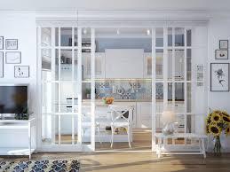 verriere interieur cuisine verrière intérieure en bois pour un espace cosy parfaitement