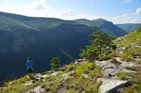 table rock hiking trail linville gorge wilderness mountains to sea trail to table rock the