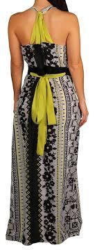 apple bottoms apple bottoms jr plus aztec print halter dress bermo enterprises