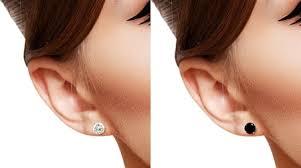 diamond stud size 1 karat diamond stud earrings platinum 5 1mm 1ct diamond stud