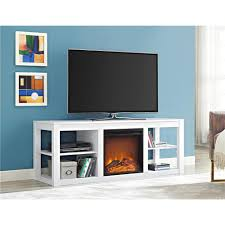tv console fireplace binhminh decoration