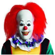 Evil Clown Halloween Costumes Halloween Scary Clown Mask Latex Creepy Pennywise