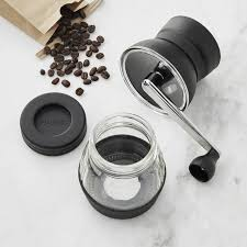 Hand Crank Coffee Grinder Mason Jar Hario Skerton Ceramic Coffee Mill Williams Sonoma