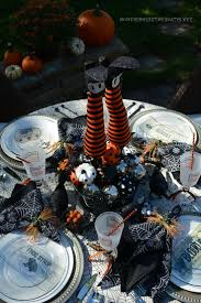Halloween Table Decorations by 212 Best Halloween Tablescapes Images On Pinterest Holidays