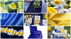 Peacock Decorations by Royal Blue And Yellow Wedding Decorations Image Collections