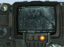Fallout 3 Map by Pipboy Caravan Rout Map Mod At Fallout3 Nexus Mods And Community