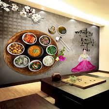 aliexpress com buy free shipping korean food wallpaper