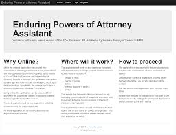 Power Of Attorney Online by Tyrrell Associates