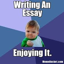 Writing Meme - writing an essay create your own meme