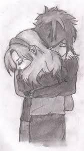 drawn k o p e l sad couple pencil and in color drawn k o p e l
