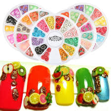 aliexpress com buy perfect summer fimo 3d nail art decorations