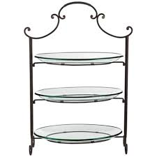 tiered serving stand tiered serving stand 3 tier rectangular serving platter three