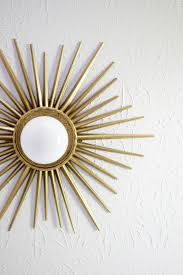 sunburst mirror medallion diy u2013 a beautiful mess